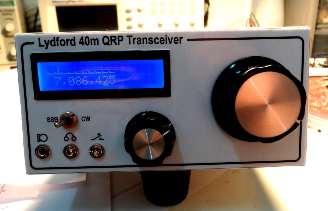 Front view of Lydford transceiver